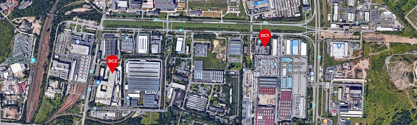 TTC Teleport Kontakty Mapa